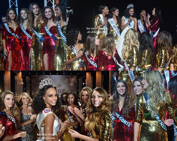 Découvrez des photos de l'élection de Miss France 2017, des coulisses, des miss.