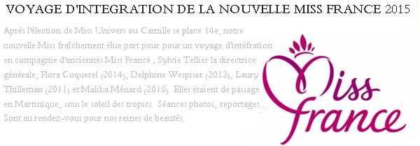 Découvrez de nouvelles photos de Camille lors de son voyage d'intégration.