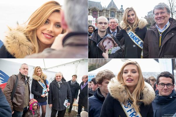 21 Mars 2015 | Camille était à France Bleu Nord, puis à la distribution du Chti 2015 sur la place de la république à Lille pour soutenir le secours populaire.