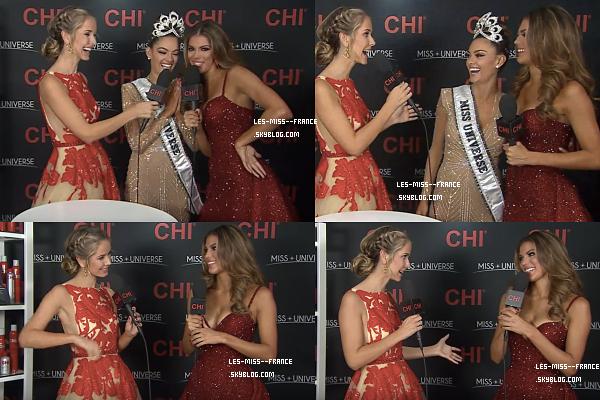 27 Nov. 2017   Alicia retrouve les miss régionales / After Miss Univers