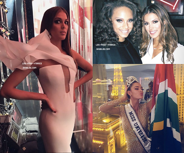 27 Nov. 2017 | Alicia retrouve les miss régionales / After Miss Univers