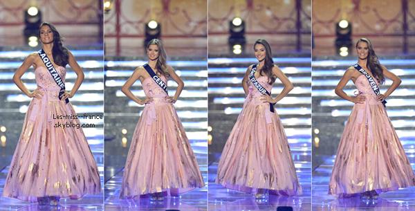 Voici le Top12 à Miss France 2015, A vous de choisir votre TOP5 !!!