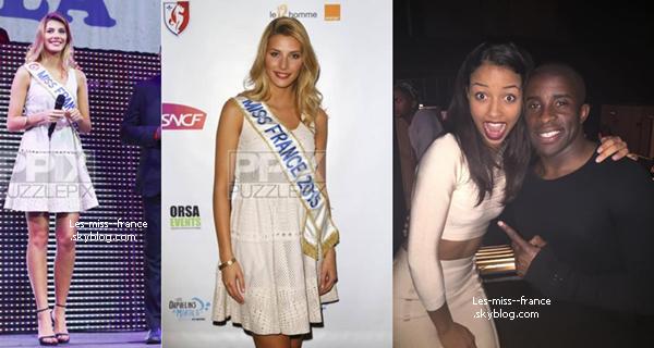 14 Avril 2015 | Camille et la Société Miss France sont à Calais pour des repérages, pour une éventuelle élection de Miss France 2016.
