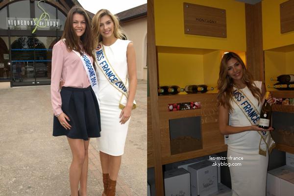 05 Mai 2015 |  Marine était en tournage de médecine avec ACN Academy. Elle était également de passage à Paris, où elle a déjeuné avec Sylvie Tellier.