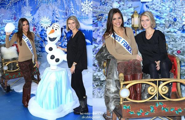 SORTIE -- Le 11 novembre Marine et Sylvie été invitées à Disneyland Paris pour le lancement des animations de Noël.