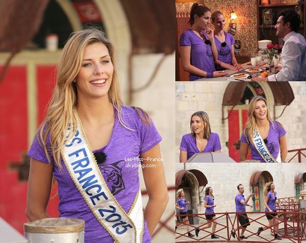 12 Juin 2015 | Découvrez des photos exclusif de nos Miss à Fort Boyard !