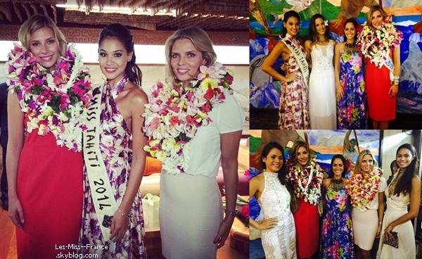 18 Juin 2015 | Camille et Sylvie sont les invitées du journal de Polynésie 1ère + Interview de Camille et d'Hinarere sur le marché.
