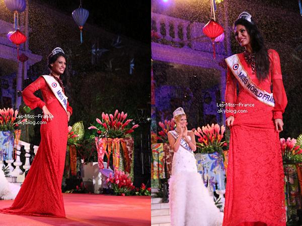 Hinarere Taputu représentera la France à Miss Monde 2015 !