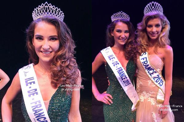Miss Île de France 2015 est Fanny Harcaut