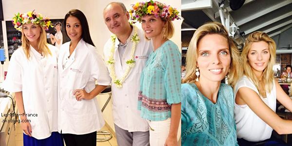 22 Juin 2015 | Dernière soirée à Tahiti pour Camille et Sylvie. Puis destination la France !