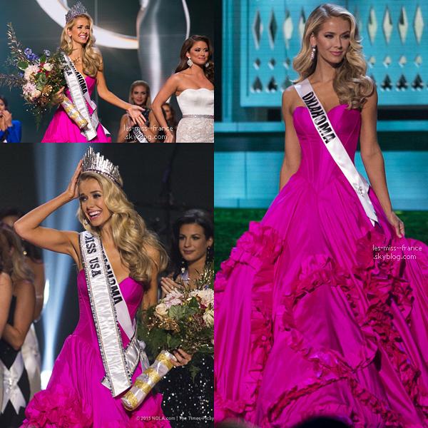 Miss USA 2015 est Miss Oklahoma !