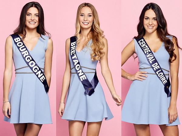 Partie 1 | Découvrez le portrait de 15 nouvelles candidates à Miss France 2019