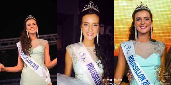 Miss Roussillon 2015 est Anaïs Marin