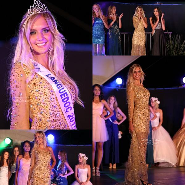 Miss Languedoc 2015 est Léna Stachurski