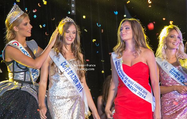 Miss Côte d'Azur 2015 est Leanna Ferrero