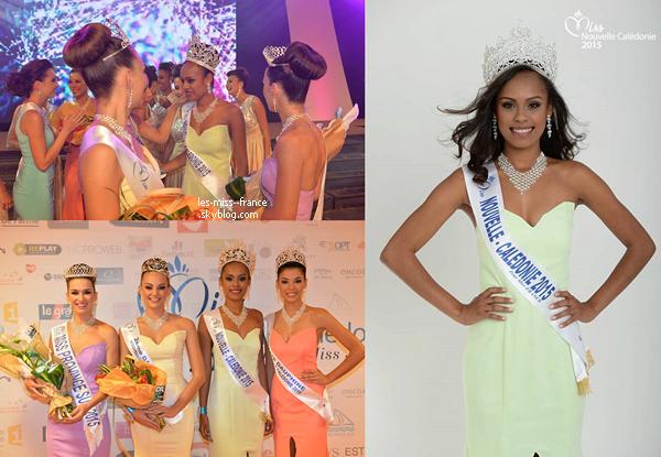 Miss Nouvelle Calédonie 2015 est Gyna Moereo