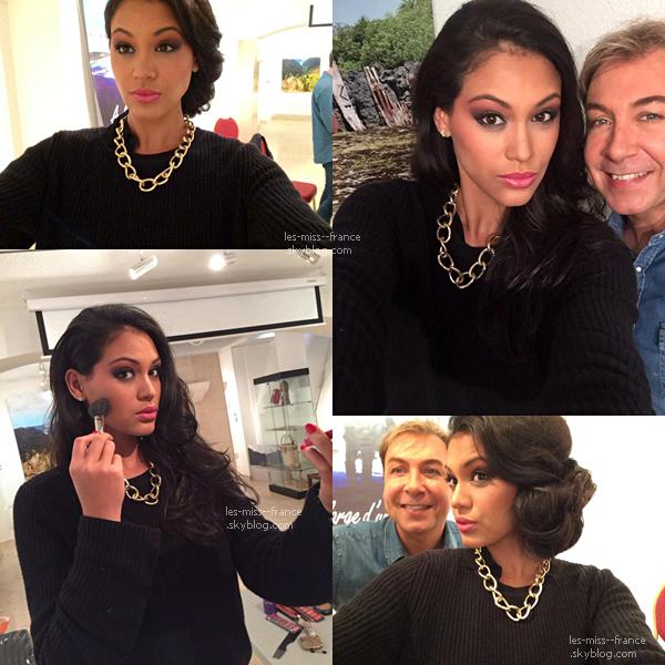 27 Aout 2015 | Hinarere Taputu est actuelle à Paris, en pleine préparation pour Miss Monde 2015, qui aura lieu le 19 décembre !