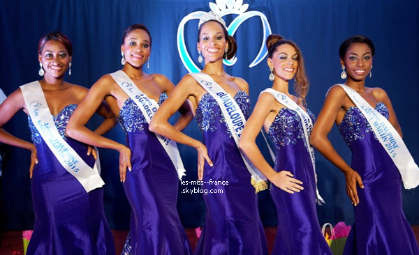 Miss Guadeloupe 2015 est Johanna Delphin