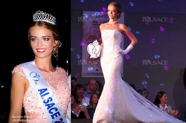 Miss Alsace 2015 est Laura Muller