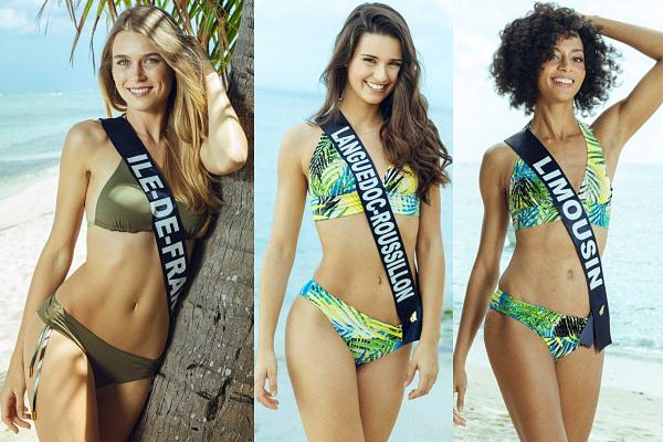 Partie 1 | Découvrez le portrait de 15 candidates à Miss France 2019