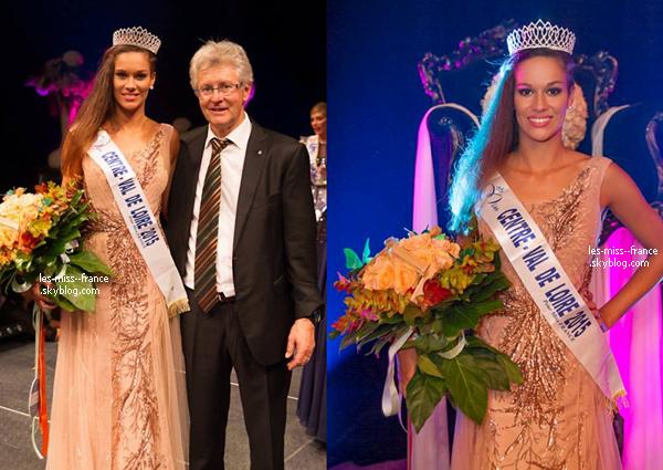 Miss Centre Val de Loire 2015 est Margaux Bourdin