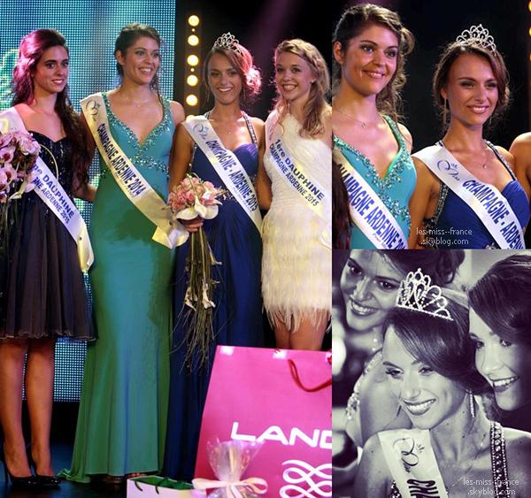 Miss Champagne Ardenne 2015 est Océane Pagenot