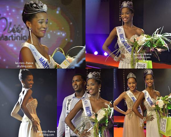 Miss Martinique 2015 est Morgane Edvige
