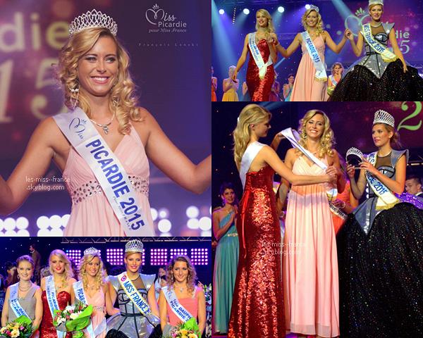Miss Picardie 2015 est Émilie Delaplace