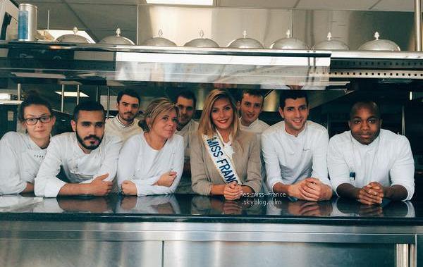 01 Oct. 2015 | Camille était dans les cuisines du Pré Catelan, en préparation de sa robe pour le salon du chocolat qui aura lieu le 27 Octobre à Paris