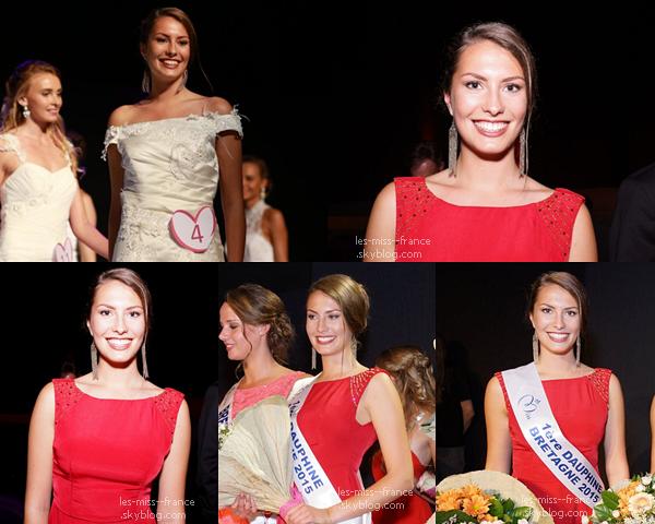 Miss Bretagne 2015 est Léa Bizeul (remplaçante)