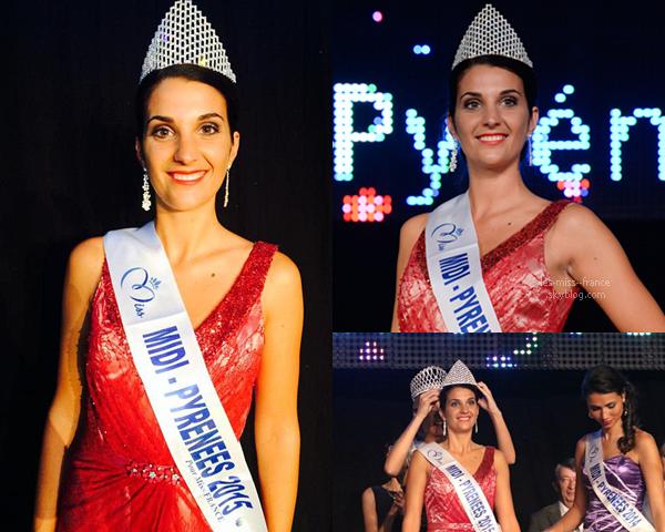 Miss Midi-Pyrénées 2015 est Emily Segouffin
