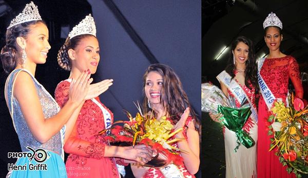 Miss Guyane 2015 est Estelle Merlin