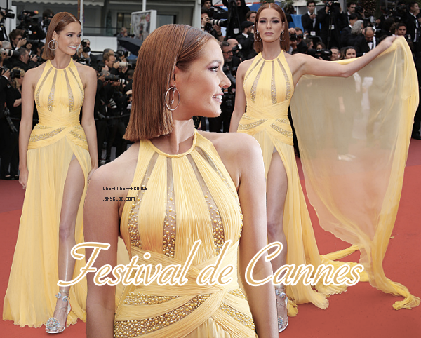 EVENTS -- Nos Miss France au Festival de Cannes 2019