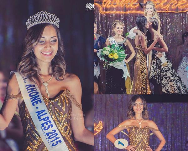 Miss Rhône-Alpes 2015 est Nora Bengrine