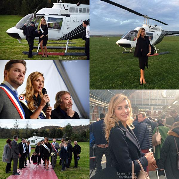 30 Oct. 2015 | Camille était à l'élection de Miss Pays des 7 Vallées à Hesdin, en compagnie d'Iris Mittenaere, Miss Nord pas de Calais 2015.