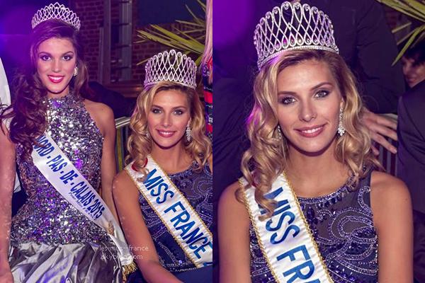 30 Oct. 2015 | Camille était à l'élection de Miss Pays des 7 Vallées à Hesdin, en compagnie d'Iris Mittenaere, Miss Nord pas de Calais 2015 (suite)