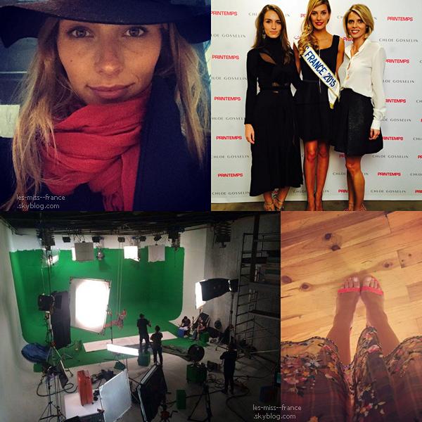 07 Nov. 2015 | Camille est sur Cannes, et se prépare pour les NRJ Music Award 2015 !