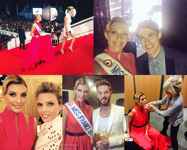 07 Nov. 2015 | Camille était au NRJ Music Award pour la deuxième fois, accompagnée de Sylvie Tellier
