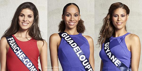 Partie 1 | Découvrez le portrait de 15 nouvelles candidates à Miss France 2016