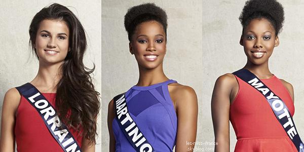 Partie 2 | Découvrez le portrait de 16 nouvelles candidates à Miss France 2016