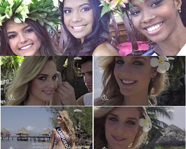24 Nov. 2015 | Deuxième journée à Tahiti, avec différentes activités et par groupe de miss