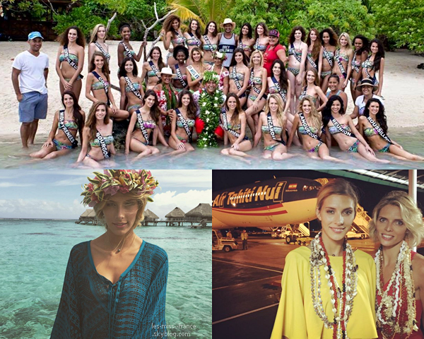 27 Nov. 2015 | 5éme jour pour nos miss, à la découverte des traditions tahitiennes