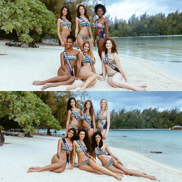01 Déc. 2015 | Après une semaine de rêve à Tahiti, nos miss repartent en France pour la suite de la prépa