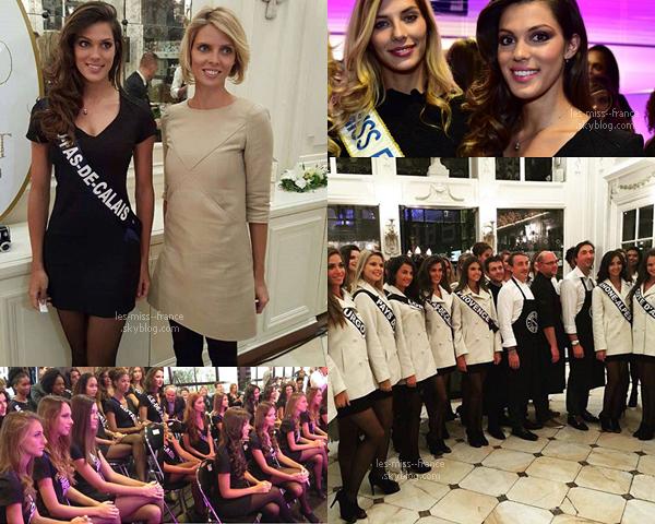04 Déc. 2015 | Camille, Sylvie et les 31 miss sont actuellement à Lille, ou se déroulera l'élection !