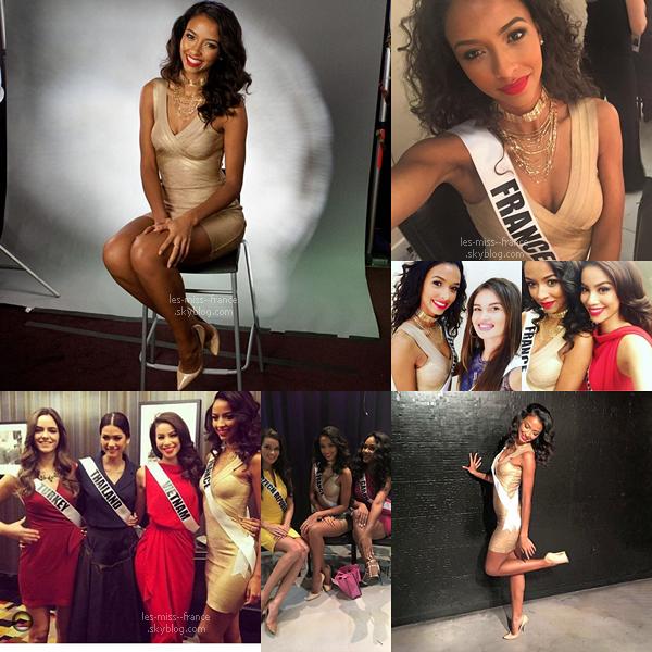 06 Déc. 2015 | Un magnifique portrait de Flora à Miss Univers