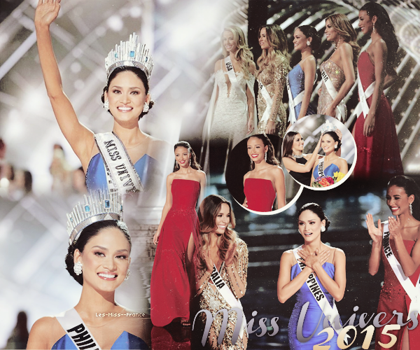 Miss Univers 2015 est Miss Philippines !