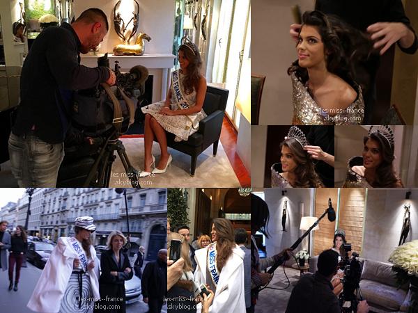 20 Déc. 2015 | Ce matin début de tournée médiatique pour Iris et séance photos pour le magazine Gala.