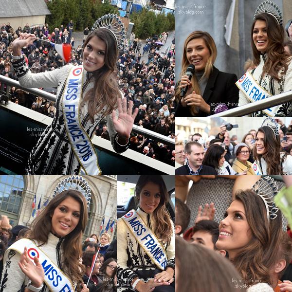 23 Déc. 2014 | Iris était de retour chez elle à Lille, accompagnée de Camille et Sylvie