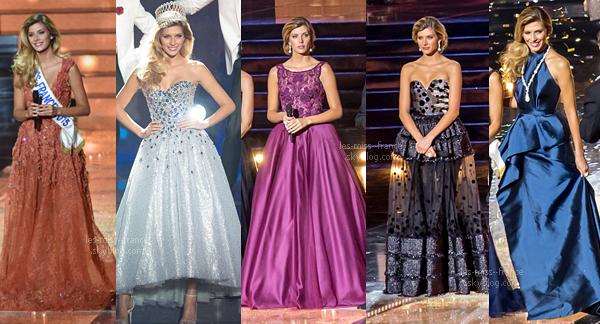 Sondage sur les tenues de Camille lors de la cérémonie Miss France 2016