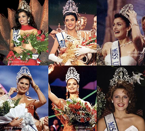 MISS UNIVERS -- Découvrez le visage de Miss Univers depuis 2002.